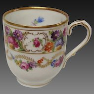 "Vintage Schumann ""Dresden Swags"" Demitasse Cup Only"