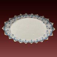 """Spode """"Fleur de Lys"""" Porcelain Jubilee Tray"""