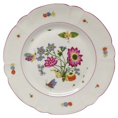 "Chas. Field Haviland ""Meissen"" Dinner Plate for MMA"