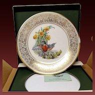 Lenox Boehm Bird Collector Series Robin Plate