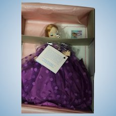 "Madame Alexander earlier doll in original box ""Bell of the Ball"" 1120"