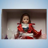"""Madame Alexander """"Captivating Swashbuckler Cissette""""  Pirate Doll in orig box, NRFB-"""