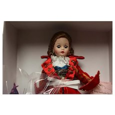 "Madame Alexander ""Captivating Swashbuckler Cissette""  Pirate Doll in orig box, NRFB-"
