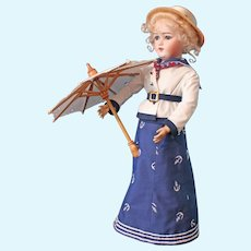Simon & Halbig - 1159 Lady Doll - German doll - 20 inches - Sailor Dress