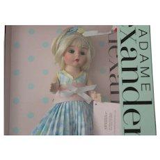 """Madame Alexander/8 inch Mint in original box/no issues/ hang tag lists her as """"MOTHER'S Day"""" - Red Tag Sale Item"""