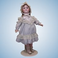 SFBJ - Depose -9/antique French doll/eyes flirt/ 22 inches tall/original undergarments