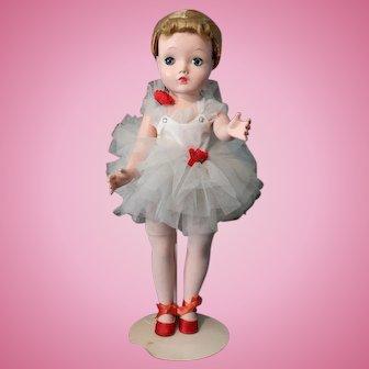 Madame Alexander Margot Ballerina - Hard Plastic 14 inch