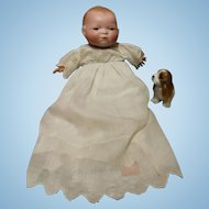 Bye Lo Baby doll, bisque is excellent, body very clean...10 inch doll