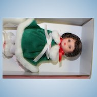 Winter Caroler Doll by Madame Alexander-Mint in box