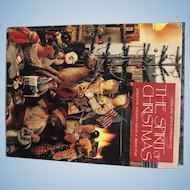 "Leisure Arts Presents "" The Spirit of Christmas""..a book of craft and food ideas"