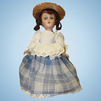 Madame Alexander composition doll - Little Miss Muffit
