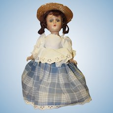 Madame Alexander composition doll -original outfit-Little Miss Muffit