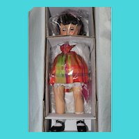 """Toni "" NEW-Effanbee ""Pretty in Plaid"" reproduction of past popular Toni Doll"