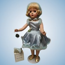 Madame Alexander Babs Ice Skater, 1948, Candy Spelling collection,  in original outfit-skates in box