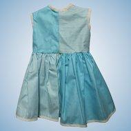 Vogue polished cotton doll dress, like new.
