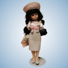 """Madame Alexander """"Classic Jackie """" 9 1/2 inch doll in original box-early doll"""