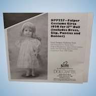 Fulper Costume Pattern from Doll Crafter 1995.  Never cut-Nice!