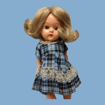 Hard Plastic doll, 5 - 6 inches.