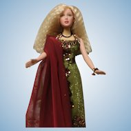 Madame Alexander  Doll in stunning dress. no box