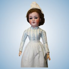 Simon Halbig doll/marked 1159- is 20 inches tall in original nurses costume