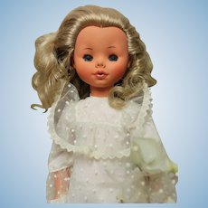 Furga Doll - 17 inches- bridal outfit, exc. condition