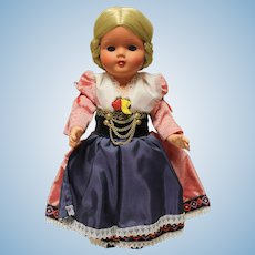 Goya Italian Doll-reduced-mint outfit-stands 11 inches