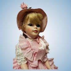 GOYA, Madame Alexander doll in fantastic pink gown