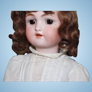 Heinrich Handwerck/Simon Halbig 1 antique doll/orig body/vintage clothing/18 inches