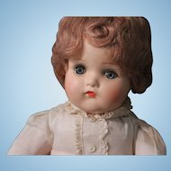 """Madame Alexander """"BUTCH"""" composition doll with tagged outfit - 1930's"""