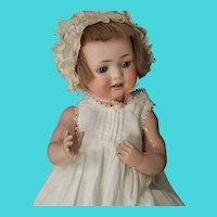 G. 327 B/ A.2.M/ D.R.G.M 259 antique baby doll on biskoline baby body