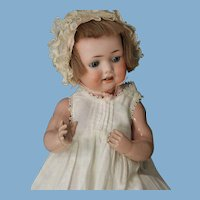 G. 327 B/ A.2.M/ D.R.G.M 259 antique baby doll on biskoline baby body