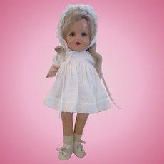 """Vintage NANCY doll Arranbee sweeties 16"""" in white"""