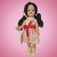 """Lou Ann Simms from the Arthur Godfrey Show doll 15"""" 170 on head"""
