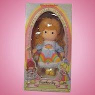 Mint unopened Joan Walsh Anglund Rainbow Joy Girl cloth  rag doll in box 1981 Knickerbocker