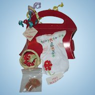 MADC 1987  Madame Alexander Convention Fiesta outfit in display box dress Wendy Wendy-kins