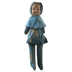 Bunny Rabbit  National Doll Company Natural Doll company doll all original compo oil cloth