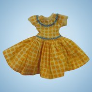 Ideal's Little Miss Revlon tagged Traveling outfit dress crisp bright doll clothing