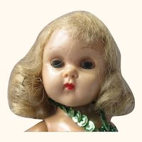 1950;s molded lash Ginny walker doll in ballerina outfit super sweet blonde