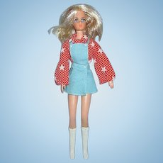 1969 New Living Barbie #1116 doll in mod fashion #3353 Sport Star Outfit 1972