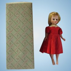 "Madame Alexander Cissette 9"" original doll in original box"