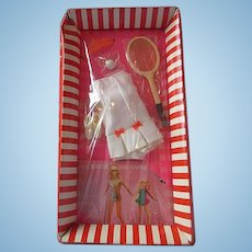 MIB Original Barbie fashion Tennis dress 1969 Tennis Team unopened PJ Stacey fits friends