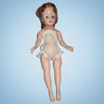 "9"" Vintage jointed Cissette doll by Madame Alexander pretty Auburn hair"