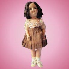 "Vintage P-91 brunette Toni doll by IDEAL 15"" pretty"