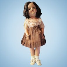 "Vintage P-91 brunette Toni doll by IDEAL 15"" pretty"