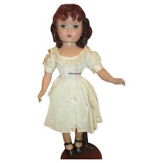 """Stunning 17"""" Madame Alexander Auburn hair Maggie doll in tagged original outfit"""