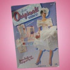 Vintage Bride original designer set Paper dolls in box 1991