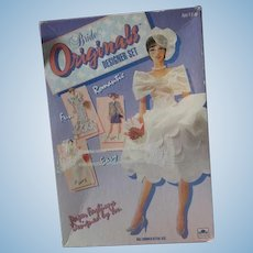 Vintage Bride original designer set Paper dolls in box 1991