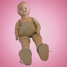 Original Effanbee Baby Dainty doll cloth body composition