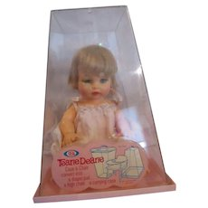 Vintage MIB Tearie Dearie by IDEAL Precious baby doll 1960's