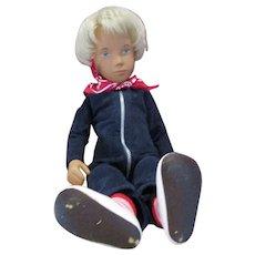 "16"" Vintage 304 Sasha Doll Gregor Fair Jump Suit,Made In England TLC"